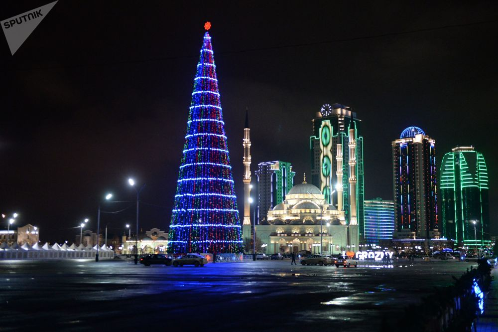 The New Year is Here! Christmas Trees Around the World