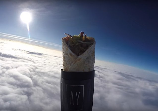 Kebab Gets Launched Into Space In World's First