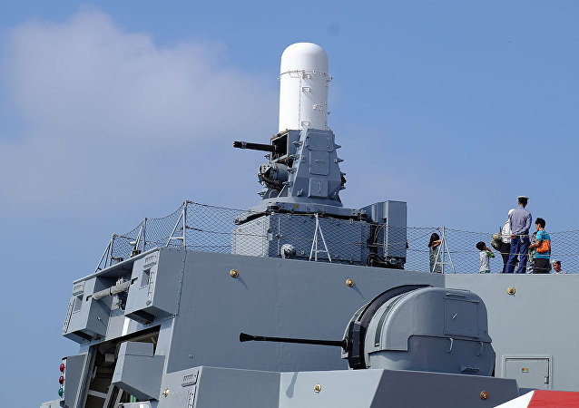 Phalanx CIWS and Bofors 40mm L70 Gun