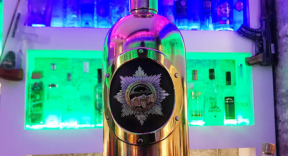 'World's most expensive vodka' bottle stolen from Copenhagen bar