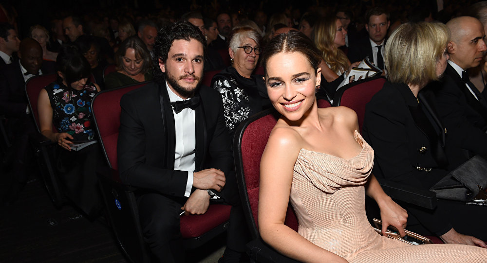 Game Of Thrones Star Harington Hits Up Charity Bash After Drunken