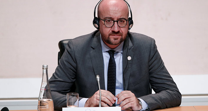 Prime Minister of Belgium Charles Michel attends the One Planet Summit at the Seine Musicale center in Boulogne-Billancourt, near Paris, France, December 12, 2017