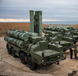 S-400 Triumf anti-air missile system enters service in Russia's Sevastopol. File photo