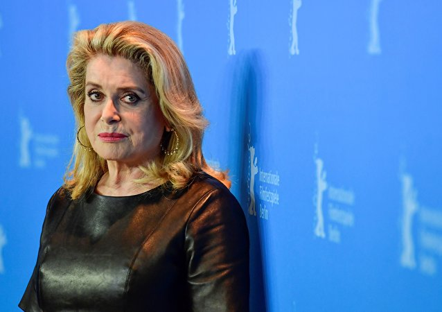 French actress Catherine Deneuve. (File)