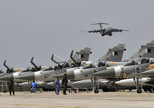 Qatari Mirage 2000-5 fighter jets. (File)