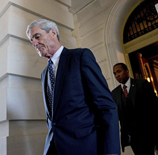Former FBI Director Robert Mueller, the special counsel probing Russian interference in the 2016 election, departs Capitol Hill following a closed door meeting in Washington. (File)