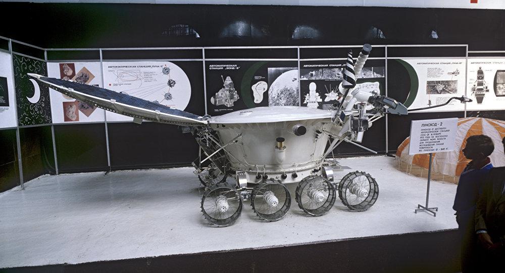 Lunar rover Lunokhod-2