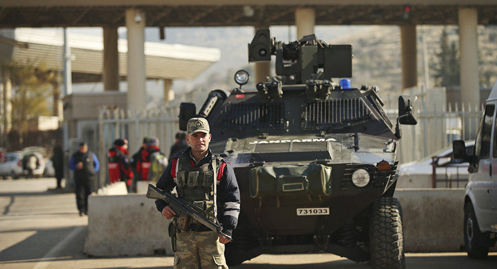 WATCH the Beginning of Turkey's Military Operation in Northern Syria