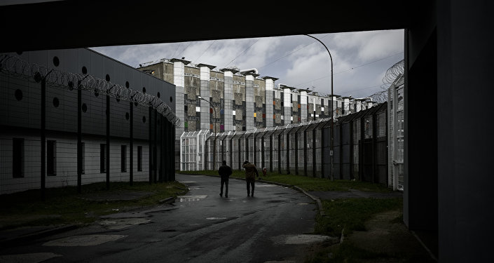 The Fleury-Merogis prison, the largest prison in Europe located in the town of Fleury-Merogis some 30 kms south of the French capital Paris, is pictured on December 14, 2017