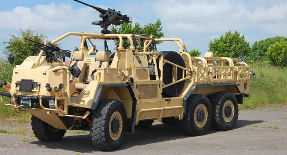 Supacat's HMT Extenda Special Forces Vehicle
