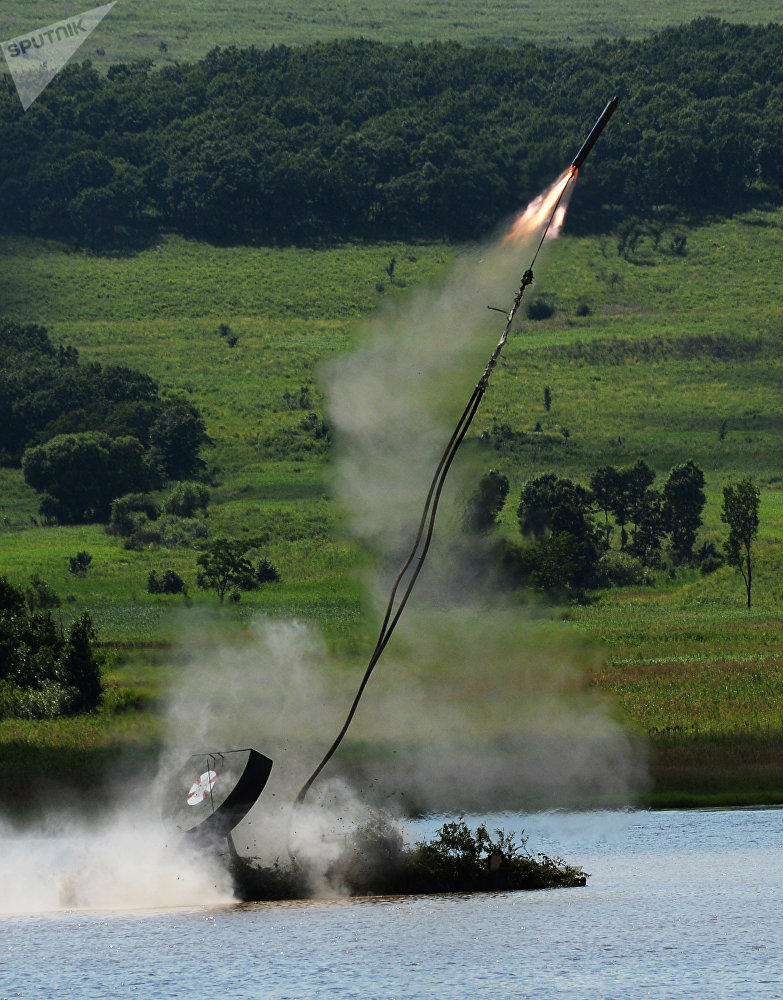 Military drills in Primorye Territory