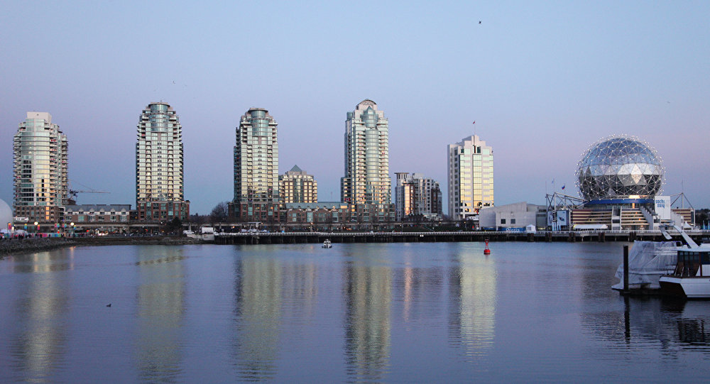 Olympic Village and Russia House in Vancouver