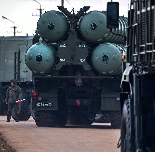 The S-400 Triumf anti-air missile system