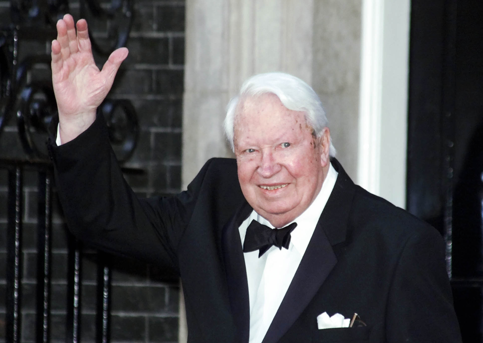 Britain's former Prime Minister Sir Edward Heath