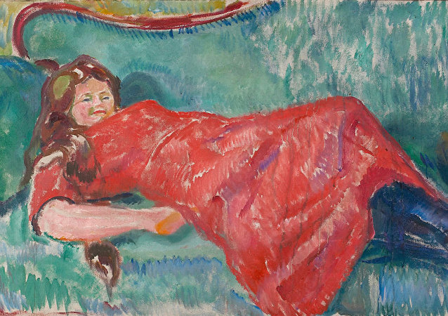 Edvard Munch - On the Sofa