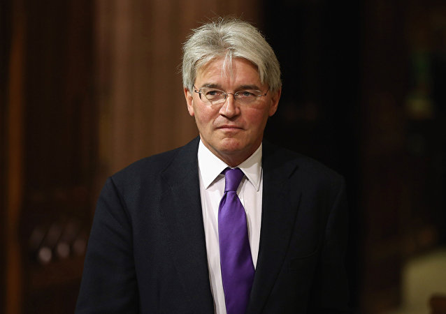Former cabinet minister and Conservative MP Andrew Mitchell. (File)