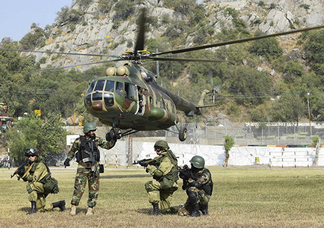 Joint drills between Russia and Pakistan
