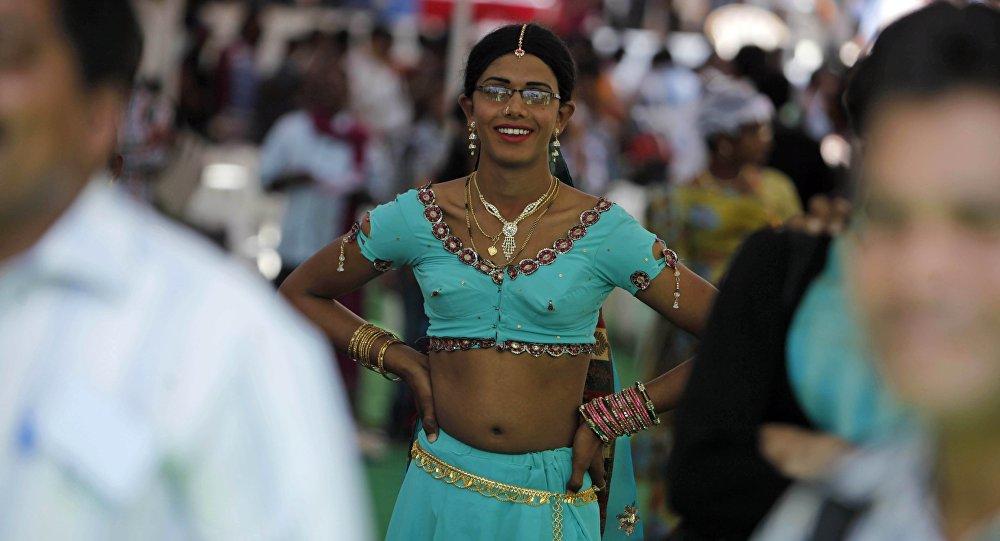 An Indian transgender. (File)