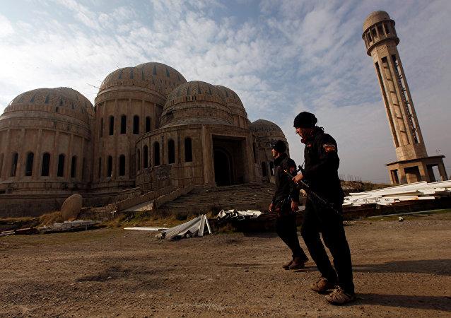 Forces antiterroristes irakiennes à Mossoul