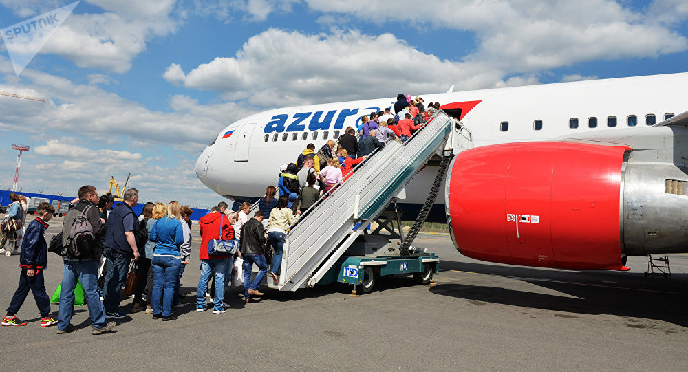 Azur Air aircraft. File photo