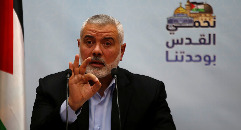 US Adds Former Palestinian Prime Minister Ismail Haniyeh to Sanctions List
