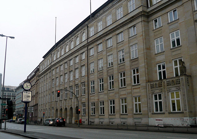 Former Gestapo headquarters in Hamburg. File photo