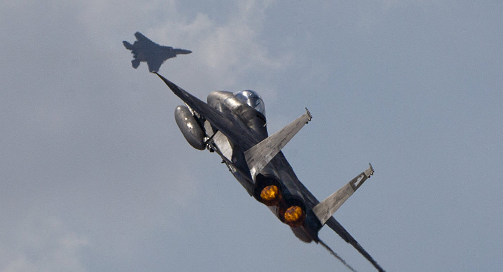 Israeli Fighter Jet Shot Down Over Syria After Hitting 'Iranian Sites'