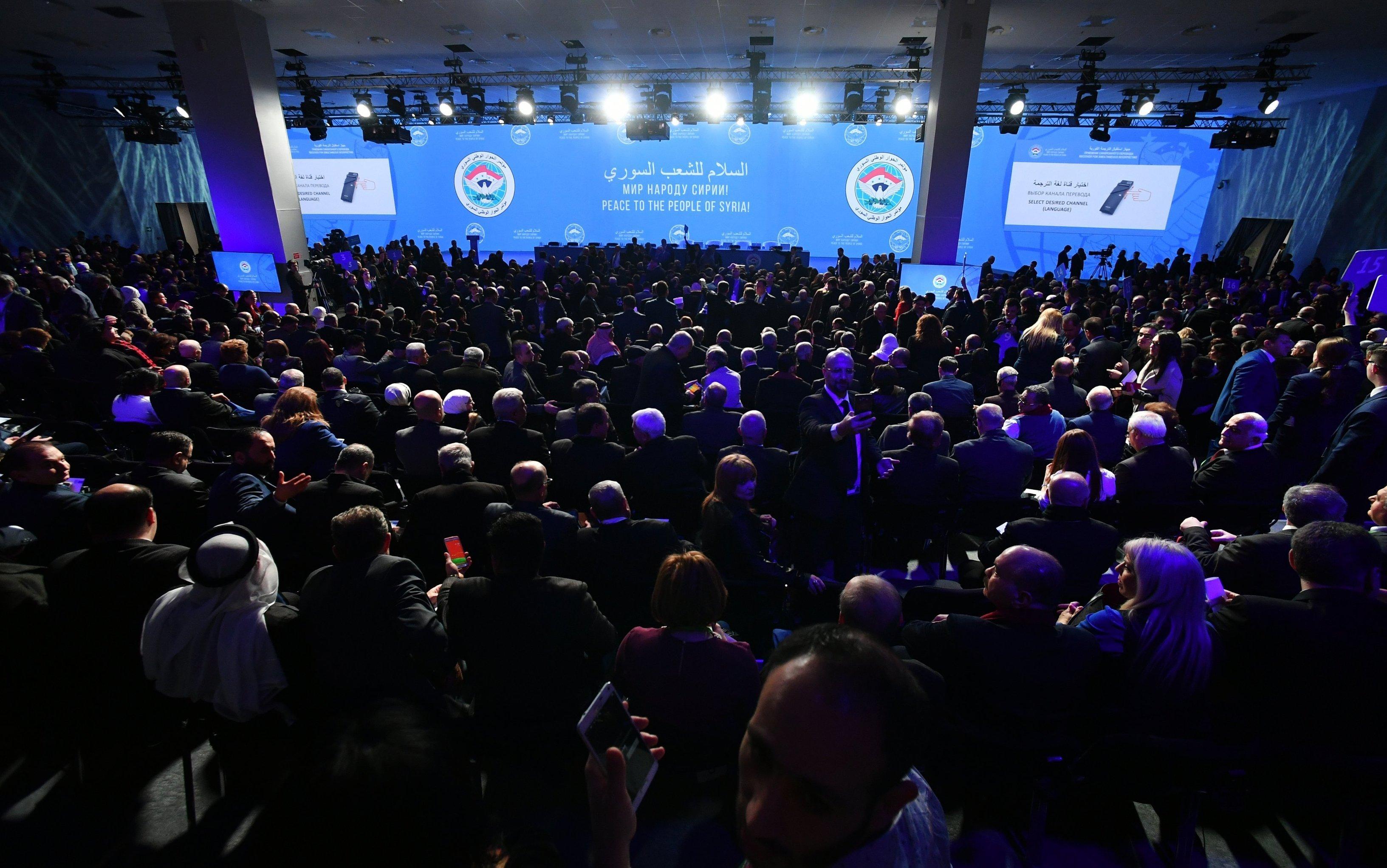 Sochi hosts Syrian National Dialogue Congress