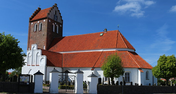 Mariakyrkan church in Bastad