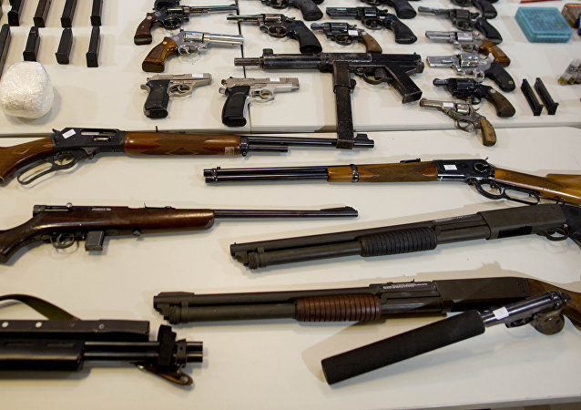 Weapons seized (photo used for illustration purpose)