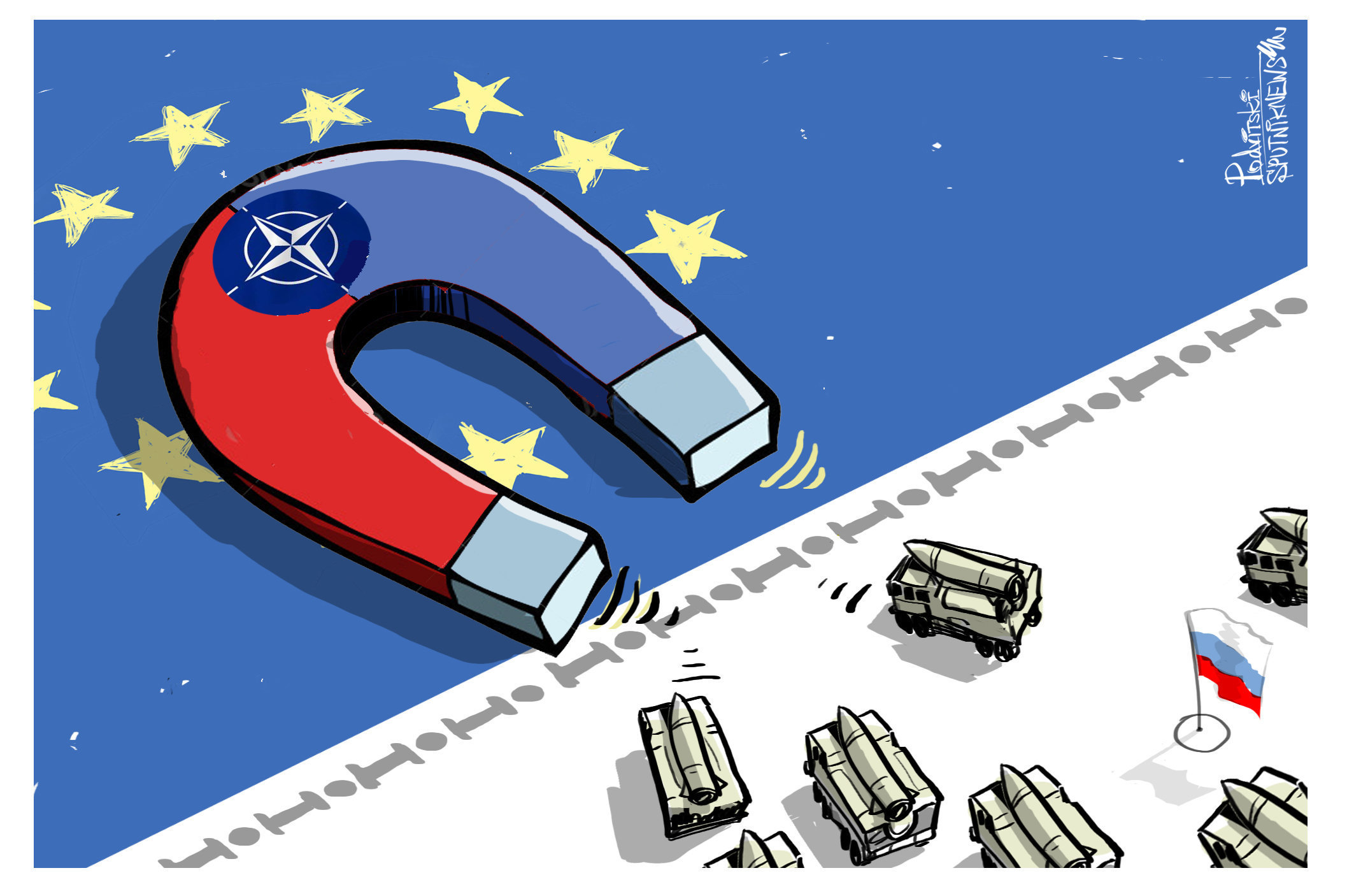 NATO cartoon