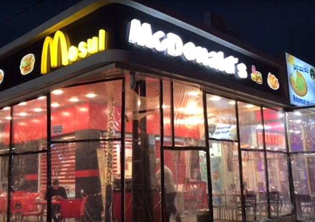 McMosul? Fake Maccy D's Serves Food and Hope in War-Torn City After IS Defeat