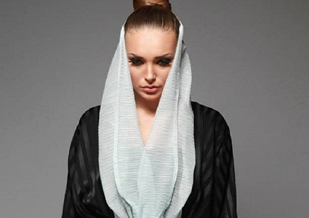 Darina Tkachenko, Russian-Ukrainian model living in Saudi Arabia