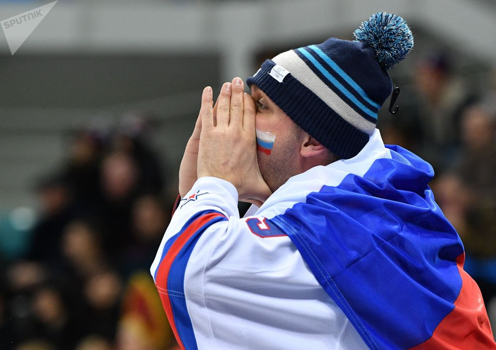 Russia's Olympic Hockey Final Win in Pictures