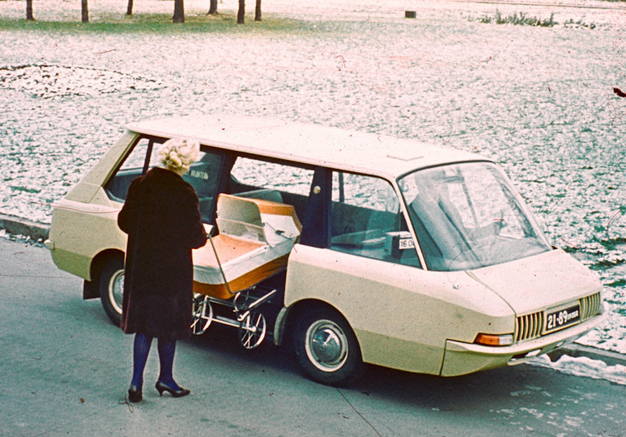 The Prospective Taxi project featured ample room for passengers.