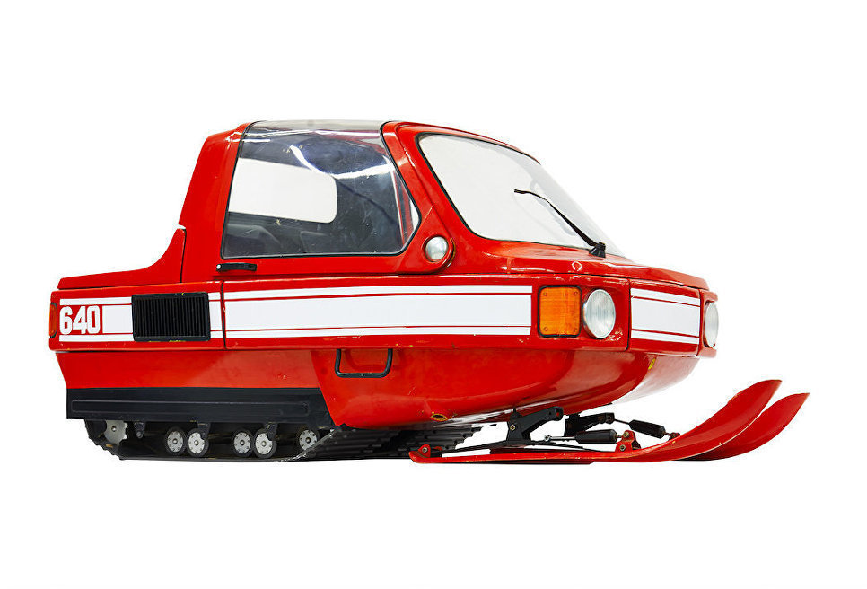 The 1980-Е snowmobile