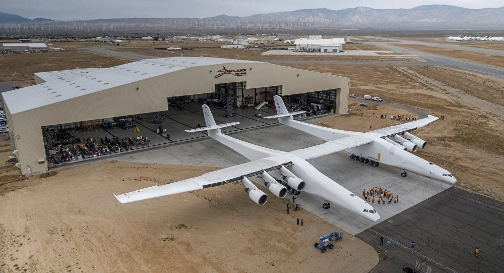 World's biggest plane Stratolaunch takes next test flight