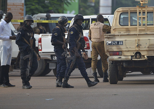 Security forces in Ouagadougou, Burkina Faso (File)