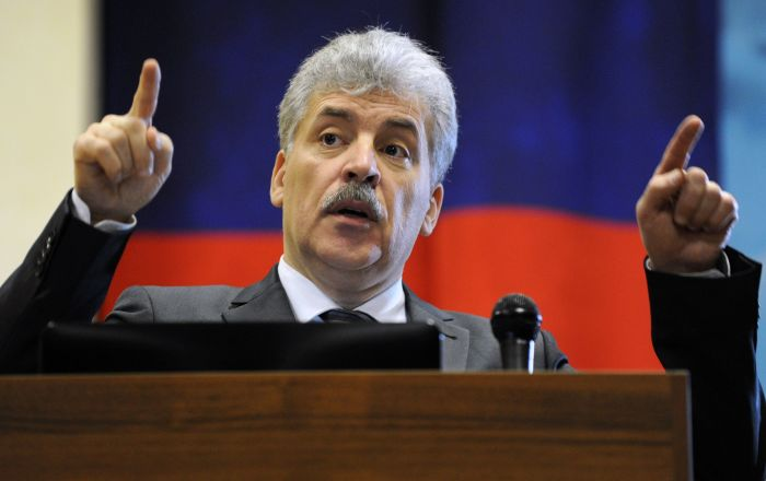 Pavel Grudinin: To Be Respected, Russia Needs to Be Strong Economically