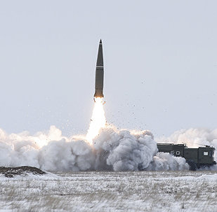 An Iskander-M missile launch. File photo
