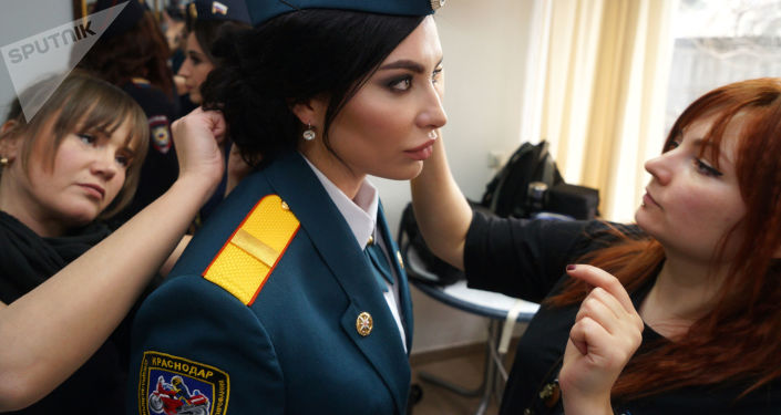 Girl Power: 'Beauties Under Oath' Pageant Held in Russia