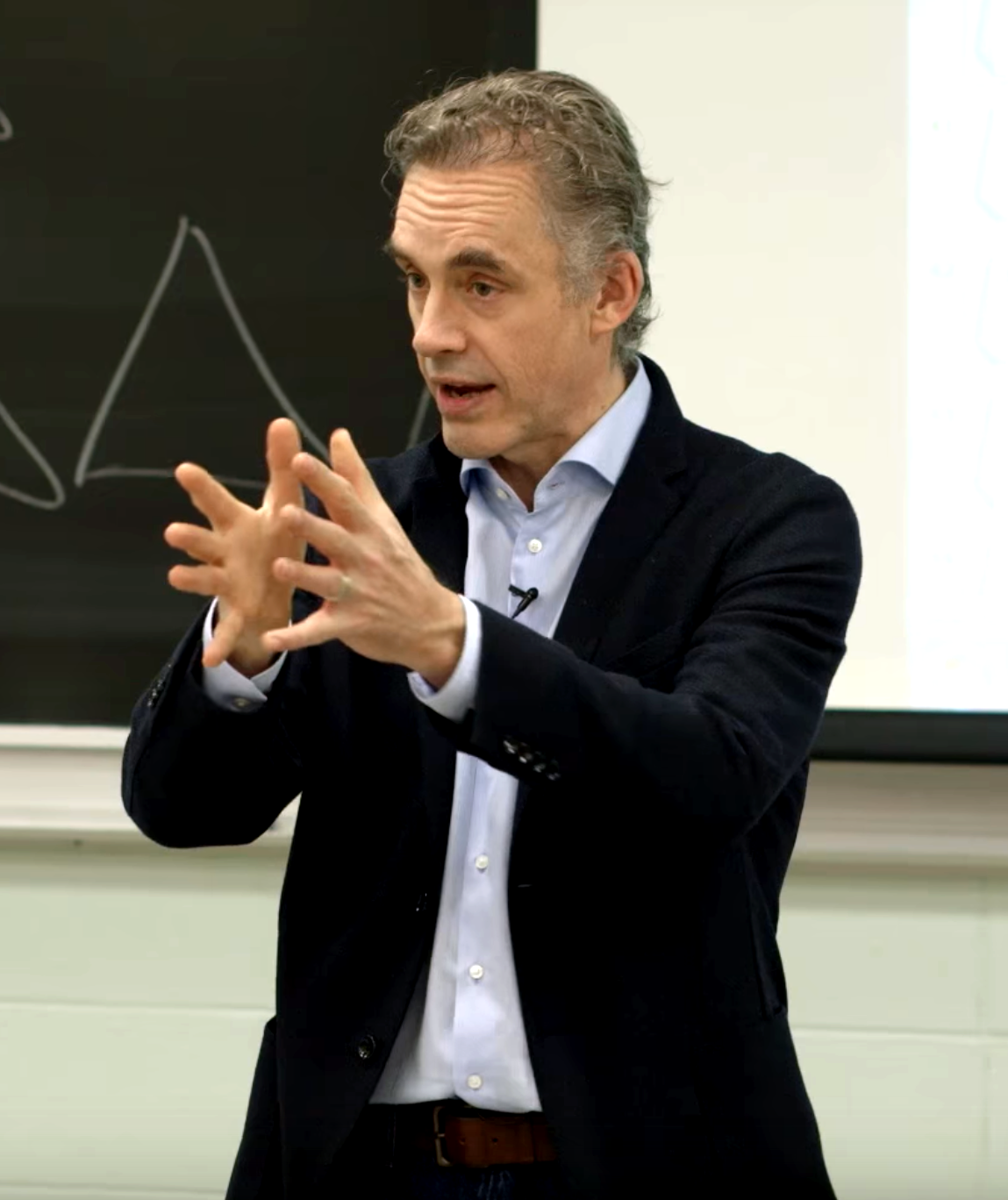 Dr.Jordan Peterson delivering a lecture at the University of Toronto in 2017