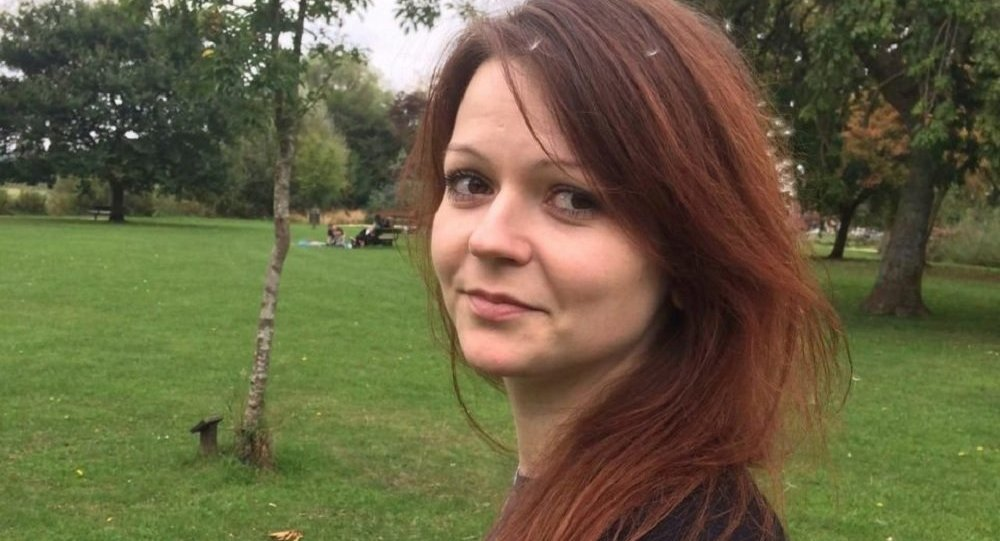 This is an alleged image of the daughter of former Russian Spy Sergei Skripal, Yulia Skripal taken from Yulia Skipal's Facebook account on Tuesday March 6, 2018