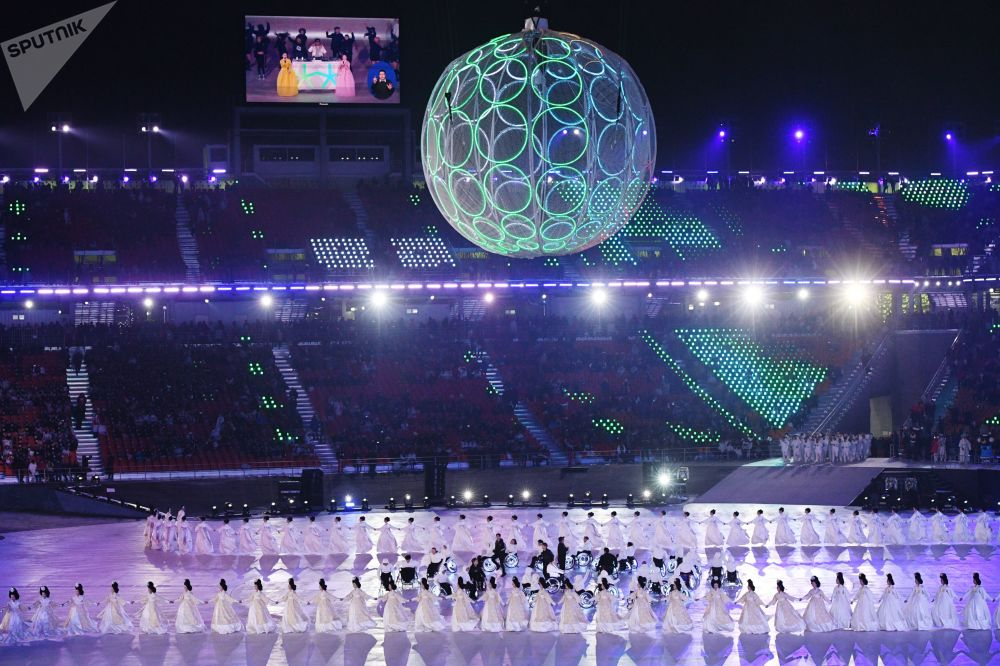 XII Winter Paralympics Opening Ceremony in Pictures