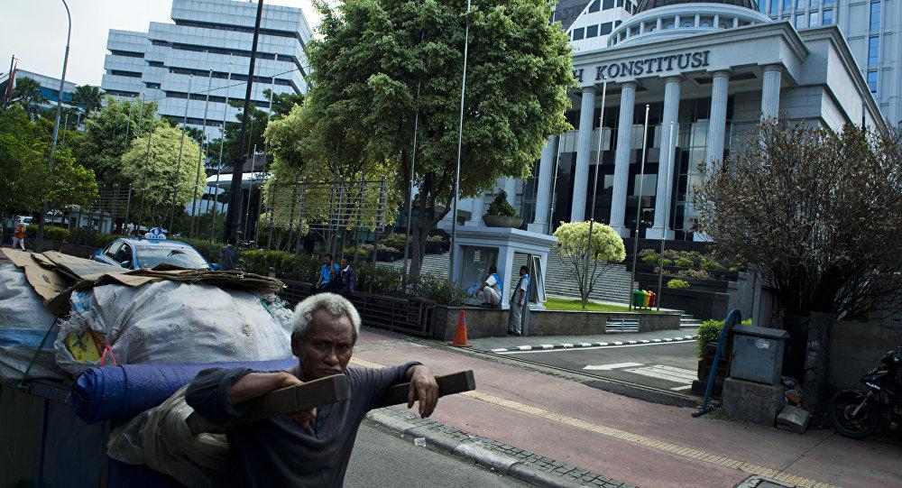 Indonesia's Constitutional Court is seen in Jakarta