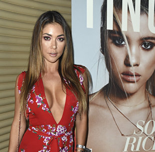 Arianny Celeste attends Tings Magazine Launch Party on Wednesday, August 23, 2017, in Los Angeles