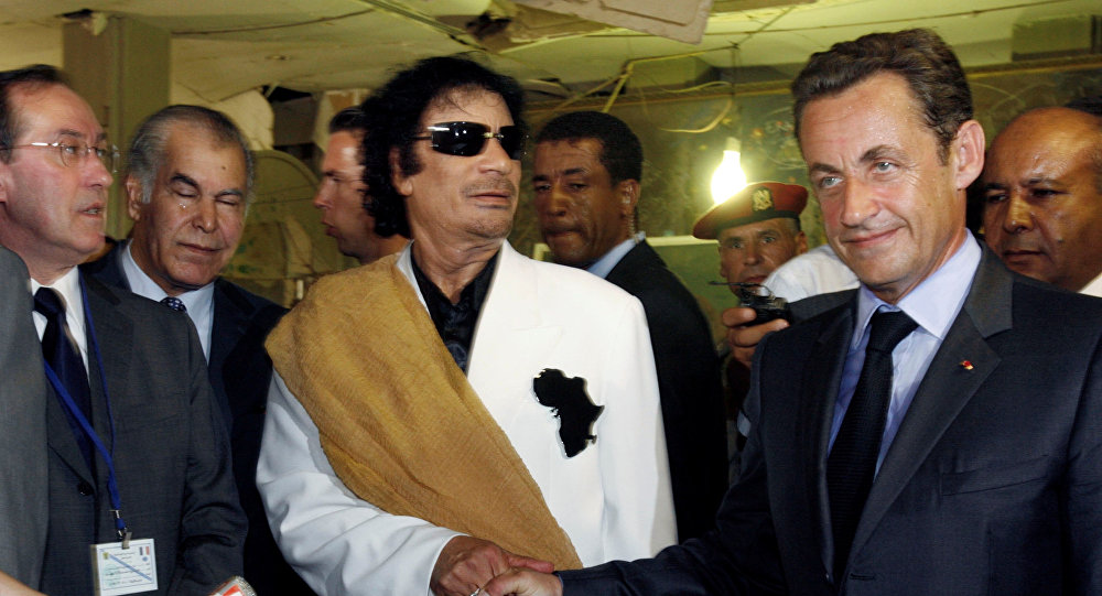 Ex-President of France Detained over Alleged Gaddafi Money