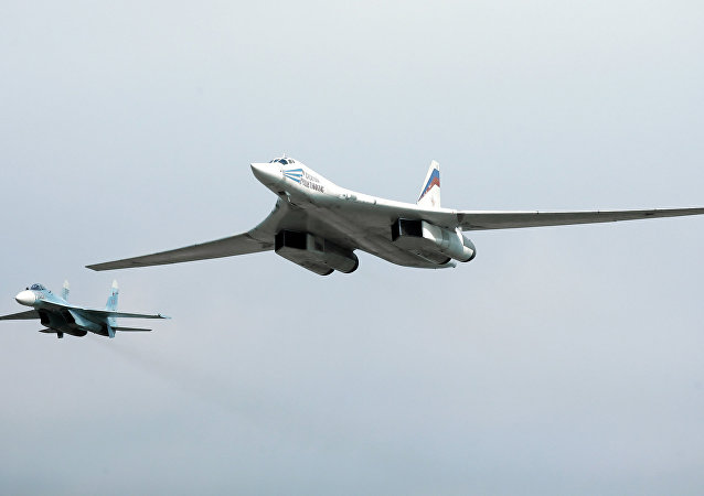 Tu-160 strategic bomber. File photo.