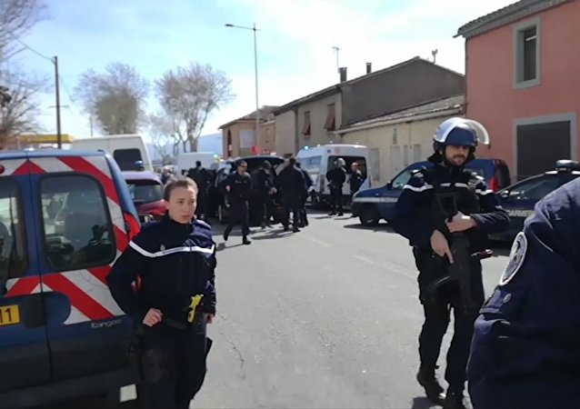 French police.