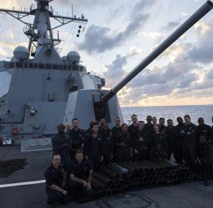 USS Mustin (November 15, 2017, off the coast of Japan)
